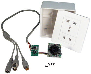 Electrical Outlet Covert Camera