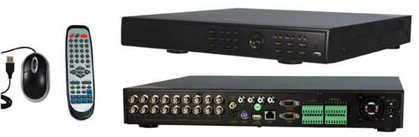 16 Channel DVR with 1 TB HDD